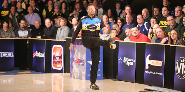 THREE-PEAT AT USBC MASTERS FOR BELMONTE