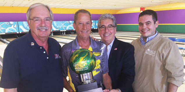 THREE STRAIGHT PBA50 TITLES FOR WEBER